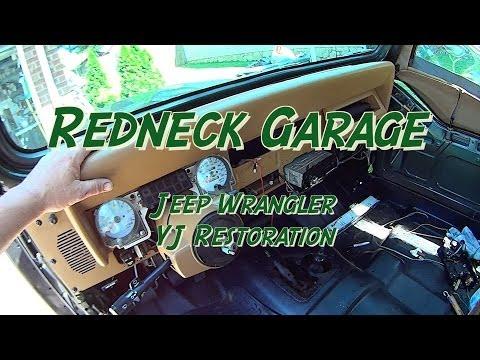 Jeep Wrangler YJ Installing Stereo, Carpet, Dash