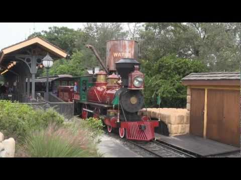 Walt Disney World Railroad Oct 2012