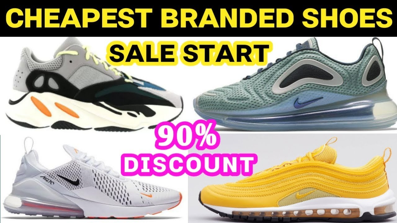 Cheapest Branded Shoes Market in Delhi | Sale Start | 90% Discount ...