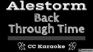 Alestorm • Back Through Time (CC) [Karaoke Instrumental Lyrics]