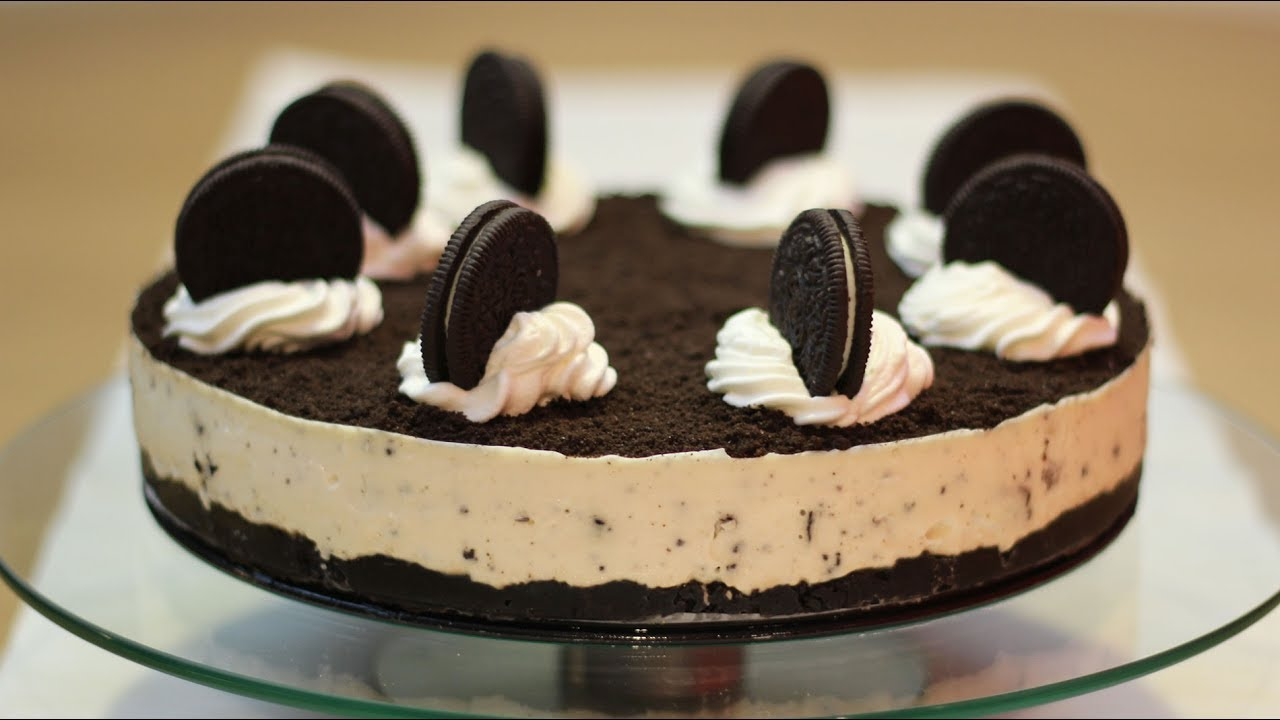Oreo torta bez pečenja - No Bake Oreo Cheesecake - YouTube