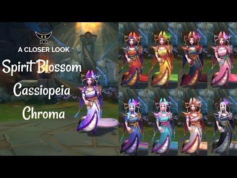 Spirit Blossom Cassiopeia Chromas