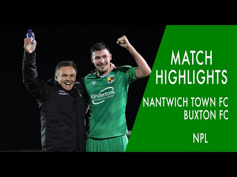 Nantwich Buxton Goals And Highlights