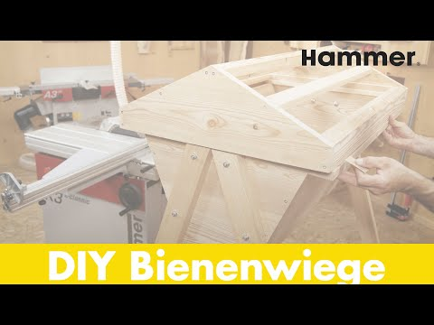 "Hammer® Holzbearbeitungsprojekt ""Bienenwiege"""