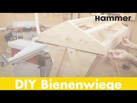 "Hammer Holzbearbeitungsprojekt ""Bienenwiege"""