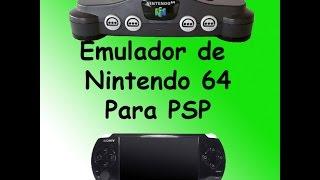 Emulador de Nintendo 64 Para PSP