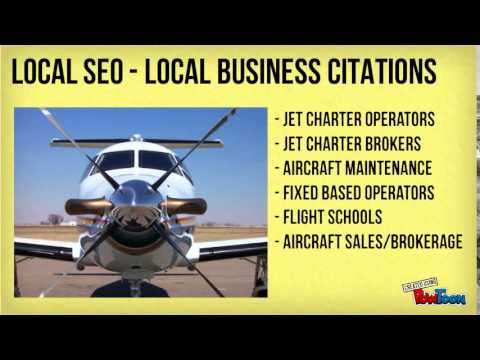 Local SEO for Aviation Service Providers