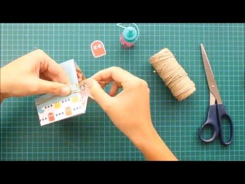 Organizador de escritorio de papel diy tutorial paso a - Organizador de papeles ...