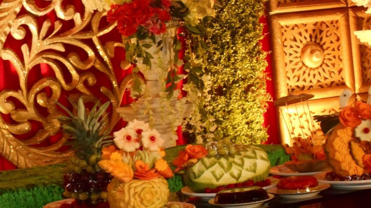 Mehndi Fruit Decoration : Holud ceremony fruit decoration অসাধারণ কিছু