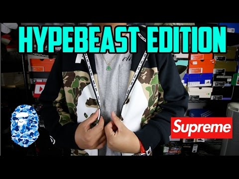 EP. 25 - BRAND NEW SNEAKER + CLOTHING PICKUPS!!! #HYPEBEAST EDITION