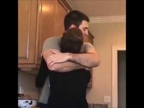 Christina Cimorelli and Her Fiancé Nick Reali Hugging and Kissing