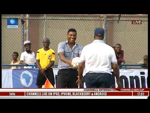 News@10: African Church School Wins 9th Edition Of Channels Int'l Kids Cup 27/05/17 Pt 4