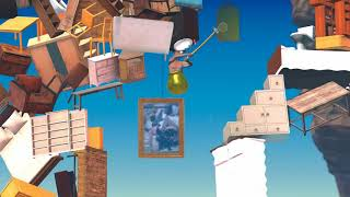 Getting Over It Speedrun (1:58) PB