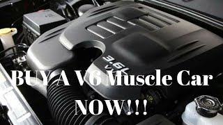 TOP 5 reasons why you NEED a V6 Muscle Car/ Benefits of a V6 Muscle Car..