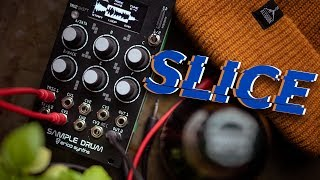 Slicing Samples - Erica Synths Sample Drum