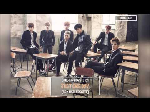 [3D+BASS BOOSTED] BTS 방탄소년단 - JUST ONE DAY 하루만 | bumble.bts