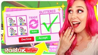 I Traded Only LEGENDARY Pets in Adopt Me for 24 Hours! Roblox Adopt Me Trading Challenge