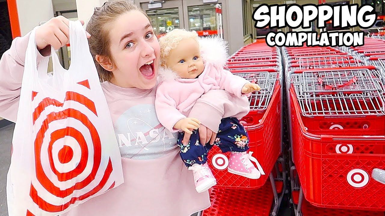 Shopping With Reborn Baby Doll At Target Amp Marshalls Haul
