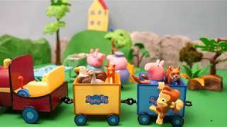 Peppa Pig Video Fun Song Grandpa's Train