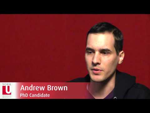 Social and Political Thought Grad Program: Student Andrew Brown | York University