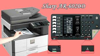SHARP AR-6020D Duplex Xerox Photocopy Machine