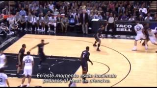 San Antonio Spurs Tribute - The Beautiful Game  SUBTITULADO