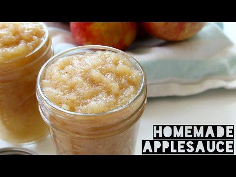 How To Make Applesauce | Easy Homemade Applesauce Recipe