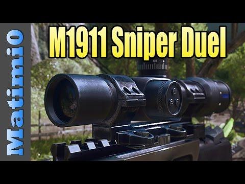 M1911 Sniper Pistol Duel - Battlefield 4