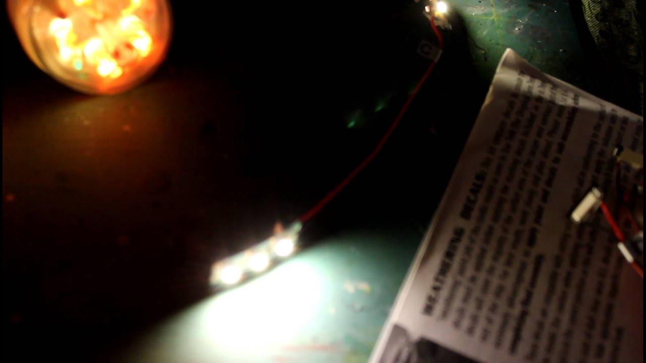 Star Trek TOS 1/350 P1 Enterprise Lighting Kit Test