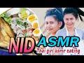 ASMR THAI noodles yum yum by NID Thai girl asmr eating no talking 4K
