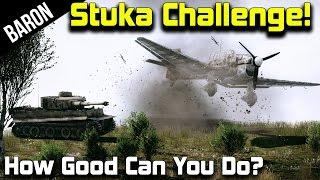 War Thunder 1.43 - Ju-87 Stuka Line Up Challenge!