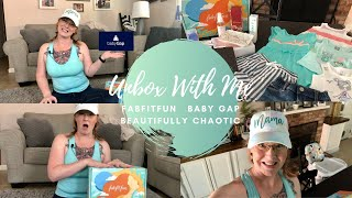 What's in My FabFitFun Summer Box + Baby Gap & Beautifully Chaotic Unboxing