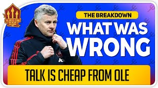 What Solskjaer Got Wrong! Watford vs Manchester United News