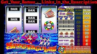 Spectacular Slot Game Online - Best 2018 US Gambling Sites