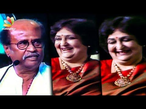 Rajinikanth praises his wife Latha | Latest Speech