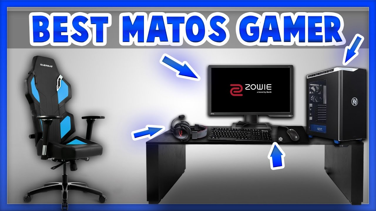 best souris pc casque clavier chaise cran gamer youtube. Black Bedroom Furniture Sets. Home Design Ideas