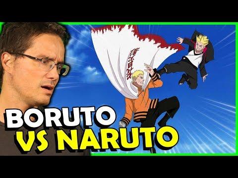 NARUTO VS BORUTO, PORRADA ANTES DO EXAME CHUNNIN