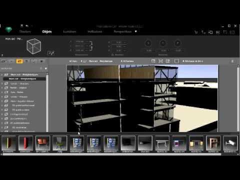 Archicad19 artlantis faire une coupe perspective 2 2 youtube - Comment faire une coupe architecture ...