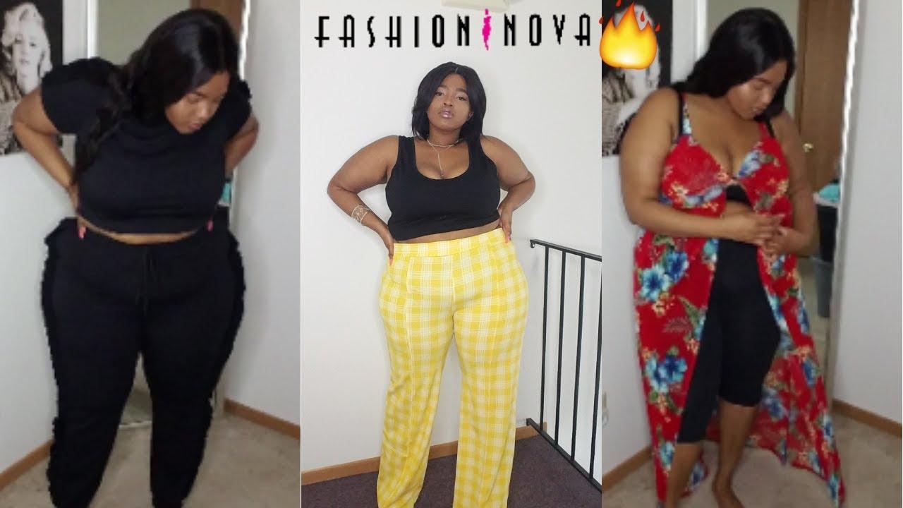 5e182239e02 Plus Size Fashion Nova Summer Try On Haul