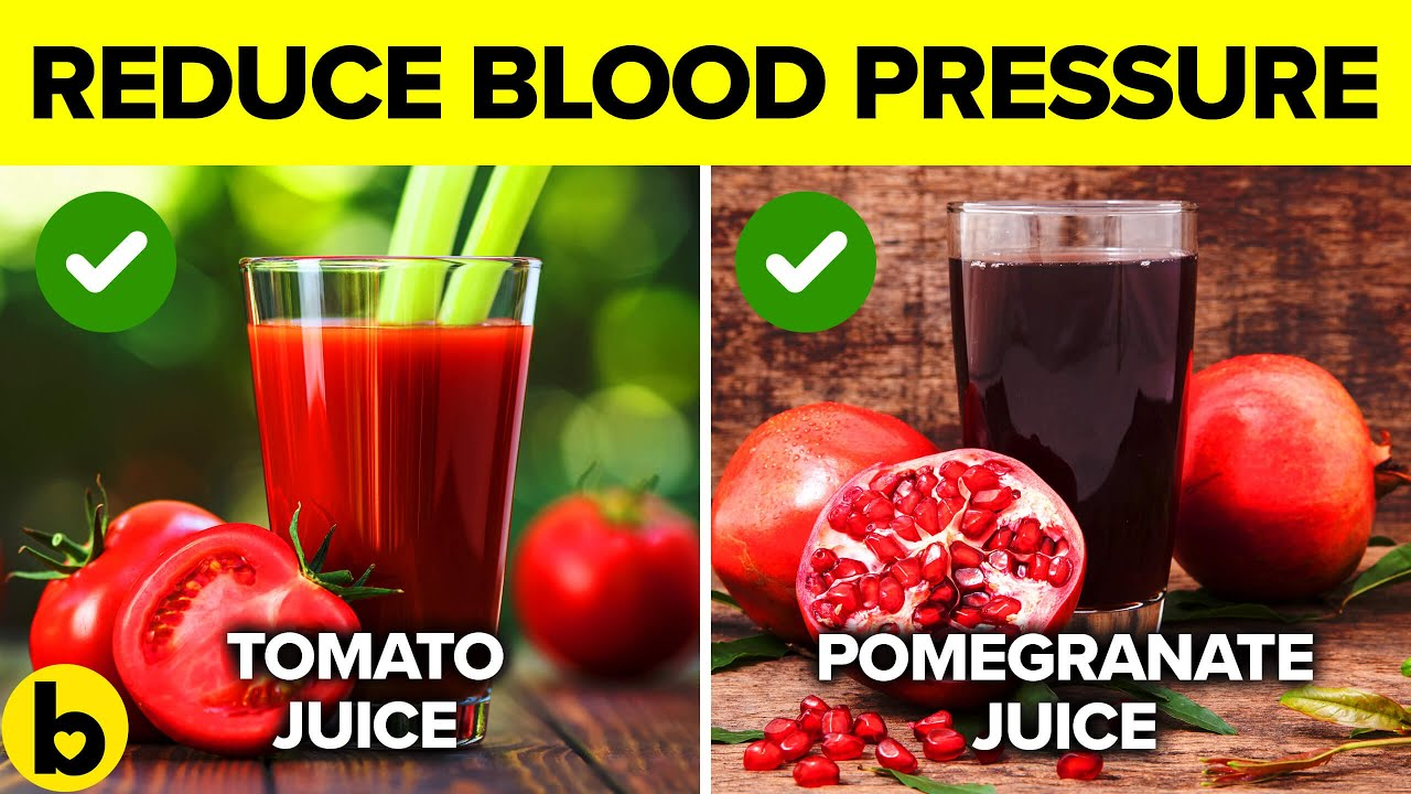 13 Beverages that will reduce your Blood Pressure Immediately