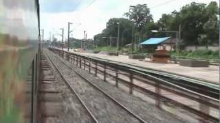 (HD) Gliding through Rourkela - Howrah-Mumbai Duronto (Aug. 10, 2011)