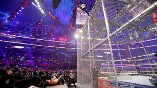 WATCH: Shane McMahon jumps 20 feet off WWE Hell in a Cell, takes brutal bump