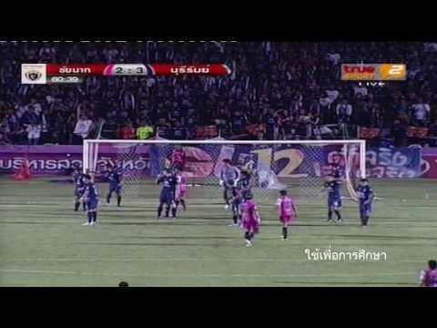 ฟูลแมตซ์ ชัยนาท เอฟซี 2-3 บุรีรัมย์ ยูไนเต็ด (TPL2013)