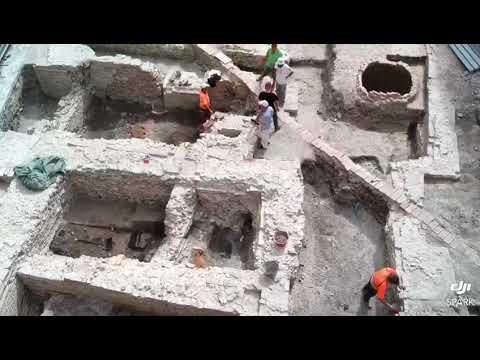 Jesi scavi di Piazza Colocci