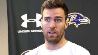 Baltimore ravens quarterback joe flacco talks about the progress of his rehab from last years season-ending knee injury.let's connect: sun ► http:/...