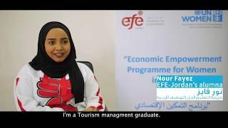 Nour Fayez - EFE Jordan Graduation