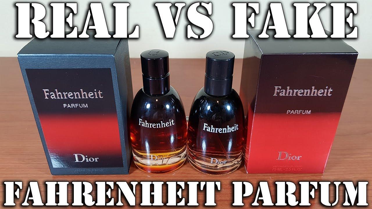 Fake Fragrance Fahrenheit Parfum By Dior Youtube