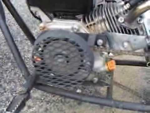 39 Mph 6 5 Hp Mini Bike And New Clutch Cover Youtube