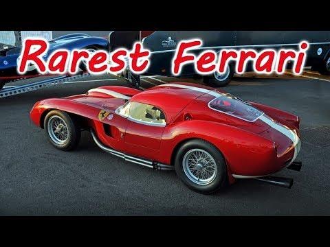 10 Rarest Classic Ferrari And Their Engines Youtube