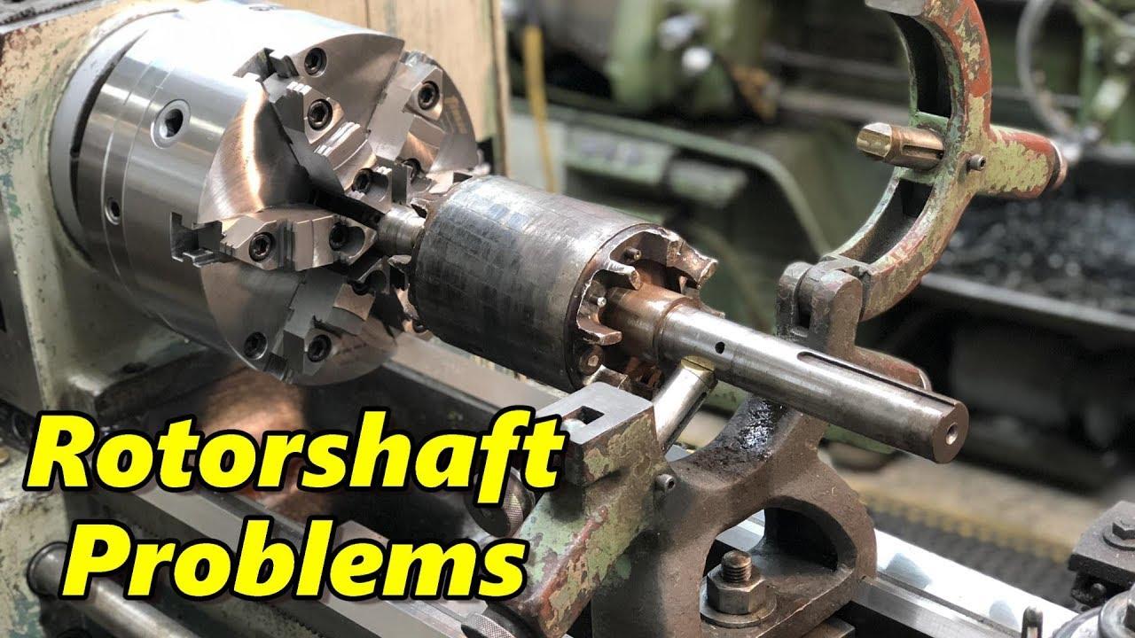 K Amp T Electric Motor Rotor Shaft Inspection